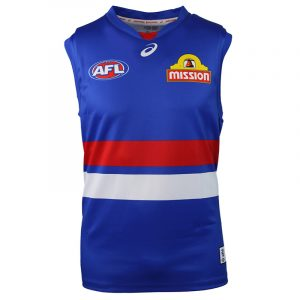 2018 Western Bulldogs Home Mens - Front